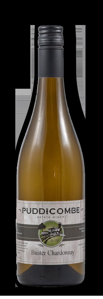 buster chardonnay bottle