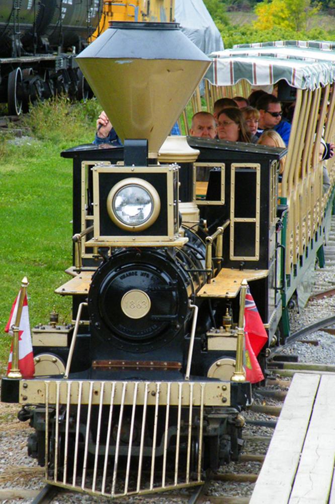 History collage TrainRide